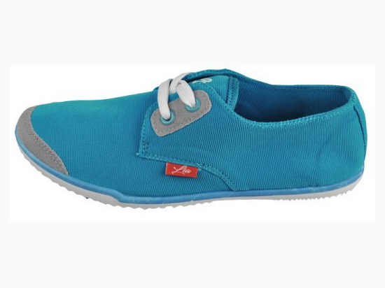 Girl's Casual Sport Shoe In Aqua - Sizes 10 - 4