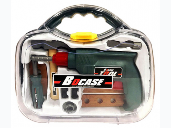 BoCase Toy Tool Set In Hand Carry Case
