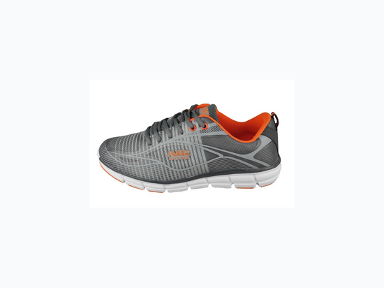 973c43113470 Girl s Grey and Light Orange Air Balance Athletic Shoe