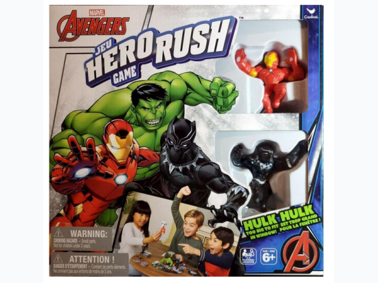 Marvel Avengers Hero Rush Game