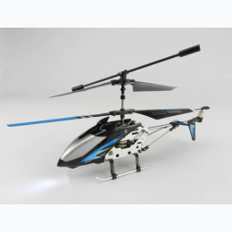 "9"" R/C Helicopter with Acrylic Case - Colors Vary"