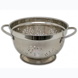 Columbian Home Products 5 Quart Stainless Steel Colander with Handles