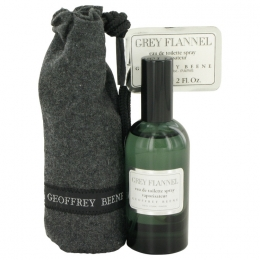 GREY FLANNEL by Geoffrey Beene EDT Spray for Men w/Pouch - 4 oz.