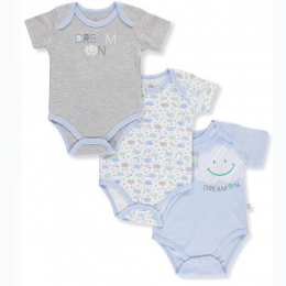 Duck Duck Goose Baby Boys' 3-Pack Bodysuits - 6 - 9 Month
