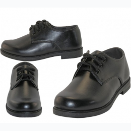 Boy's Dress Shoe In Black Sizes 11 - 3