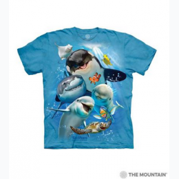 The Mountain - Ocean Selfie Toddler T-Shirt