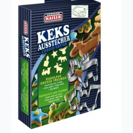 Original Kaiser KEKS Ausstecher Cookie Cutters - Rudolph's Big Friends