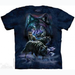 The Mountain - Wolf Pack Adult TShirt