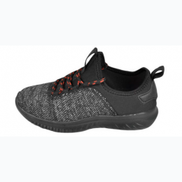 Youth Lightweight Running Sneaker - Black