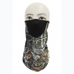 Camouflage Print Mesh Adult Anti-Dust Neck Gaiter - Styles Will Vary