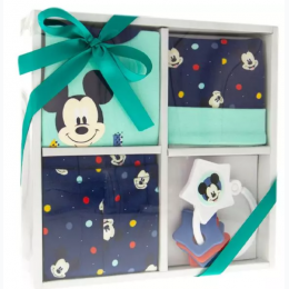 4-Piece Mickey Mouse Layette Set - 0 - 3Month