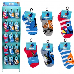Unisex Kids Finding Dory No-Show Sock