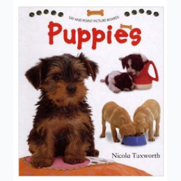 Puppies: A Very First Picture Book by Nicola Tuxworth