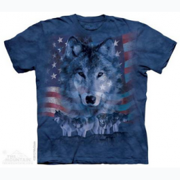 The Mountain - Patriotic Wolfpack - Adult T