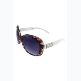 Womens Chic Square Plastic Retro Sunglasses