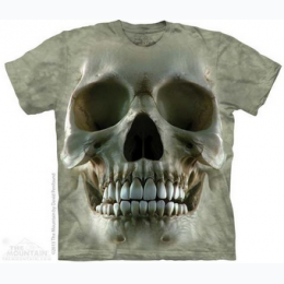 The Mountain - Big Face Skull Adult TShirt