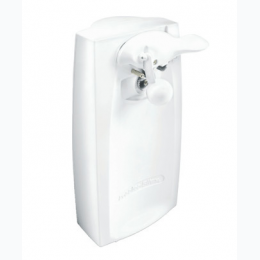Proctor Silex Power Opener Can Opener In White