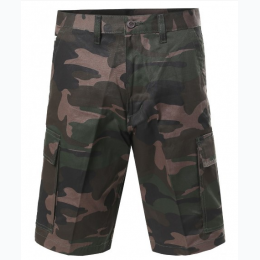 Big and Tall Men's Green Camo Cargo Short - Size 52