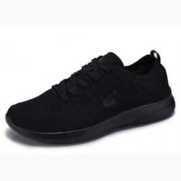 Men's Lightweight Running Sneaker In Black