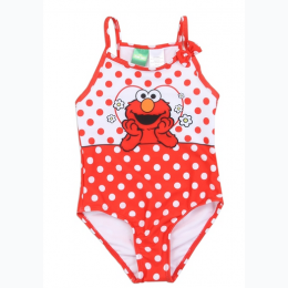 Toddler Girl's Elmo 1PC Swimsuit - SIZE 3T