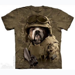 The Mountain - Combat Sam Adult TShirt