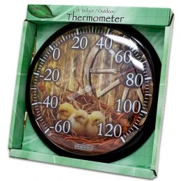 "13"" Baby Chick Indoor/Outdoor Thermometer"