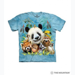 The Mountain - Zoo Selfie Toddler T-Shirt