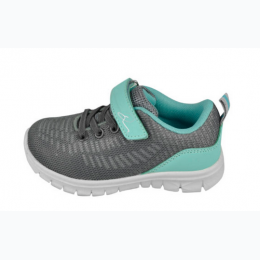 Girl's Lightweight Running Sneaker - Grey