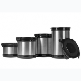 4pc Stainless Steel Storage Containers