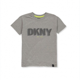 Boy's DKNY Graphic T-Shirt in Grey