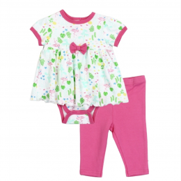 BLOOMIN BABY Flamingo Little Character 2 PIECE Set