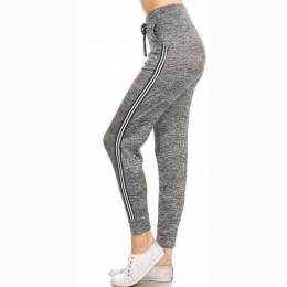 Women's Stripe Side Jogger Pant - Size Sm/Med