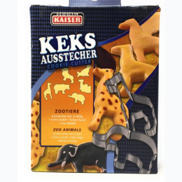 Original Kaiser KEKS Ausstecher Cookie Cutters - Zoo Animals