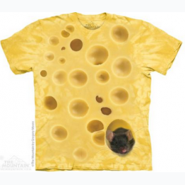The Mountain - Swiss Cheese Mouse Adult TShirt