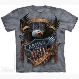 The Mountain - Armed Forces Adult TShirt