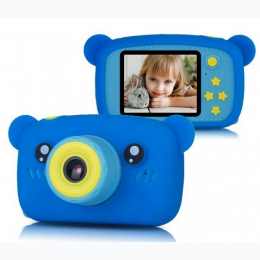 Children's HD 1080P Digital Camera with Video Recorder Camcorder -  Blue Bear