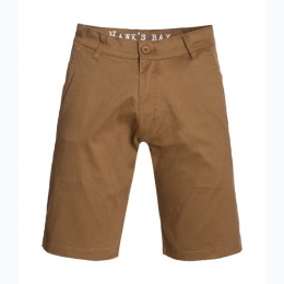 Men's Shorter Length Chino Short In Tobacco - Size 28