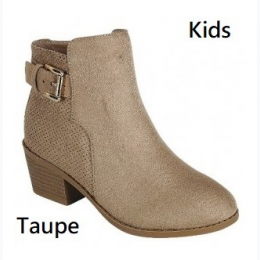 Girl's Faux Leather Bootie