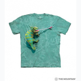 The Mountain - Climbing Chameleon Toddler T-Shirt
