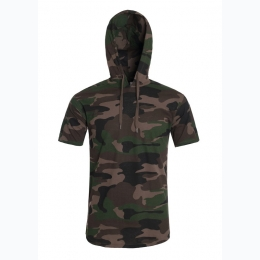 Men's Short Sleeve Hoodie by Generation XYZ