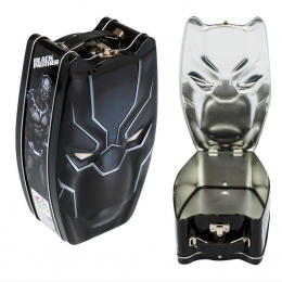 Black Panther Large Embossed Lunch Box