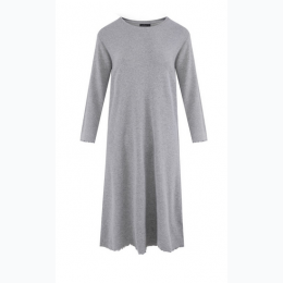 Women's Cozy Rib Sleep Dress