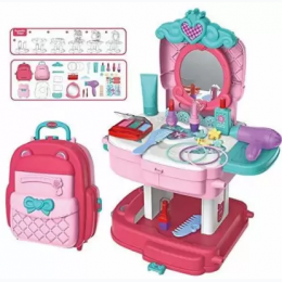 2-in-1 Backpack & Dresser Set - 30 Pieces