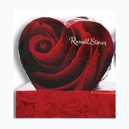 Russell Stover Assorted Chocolates in Photo Heart Box - Box Styles Will Vary