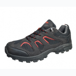 Boy's Black and Red Athletic Shoe Sizes 10 - 7.5