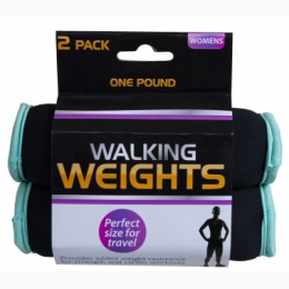 Women's 2 Pack 1 Pound Walking Weights