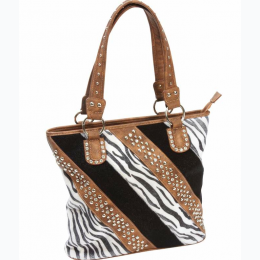 Fleur de Lune® Ladies' Fashion Zebra Purse
