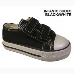 Baby and Toddler Retro Inspired Velcro Enclosure Sneaker