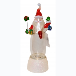 Color Changing Dancing Water Musical Santa