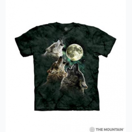 The Mountain - Three Wolf Moon Toddler T-Shirt